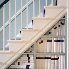 Margaretta Terrace, Chelsea, London:  Corridor & hallway by Zebra Property Group