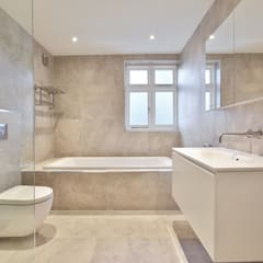Case Study: Surrey: modern Bathroom by BathroomsByDesign Retail Ltd