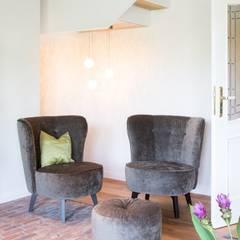 Modernisierung Fachwerkhaus: landhausstil Wohnzimmer von Innenarchitekturinsel
