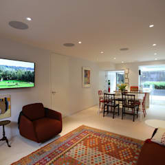 Crestron Audio Video Installation in Primrose Hill:  Electronics by Custom Controls