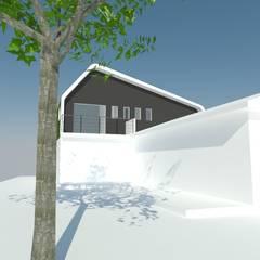 Ampliacion: Dormitorios de estilo  por OMD Arquitectos
