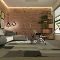 Living room by LabDesign ,