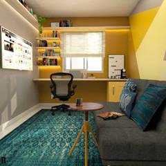 Home Office FR: Escritórios  por LabDesign