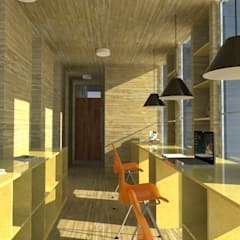 1: Estudios y biblioteca de estilo  por OMD Arquitectos