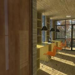 2: Estudios y biblioteca de estilo  por OMD Arquitectos