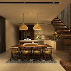 Escaleras de estilo  por Văn Phòng Kiến Trúc Một Nhà