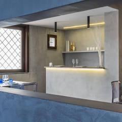 Projekty,  Ściany zaprojektowane przez architetto Lorella Casola