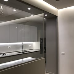 Built-in kitchens by ULA architects,