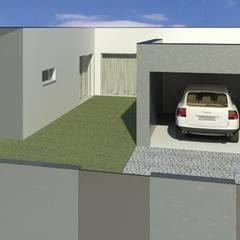 URBANIZAÇÃO  GUILHOVAI: Casas unifamilares  por Opus-Mater atelier