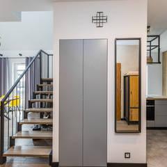 Lykke, mieszkanie w Warszawie: styl , w kategorii Korytarz, przedpokój zaprojektowany przez Capricorn