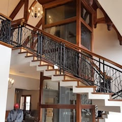 Stairs by Ciber Steel Worx (PTY) LTD