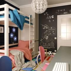 Habitaciones para adolescentes de estilo  por M5 studio