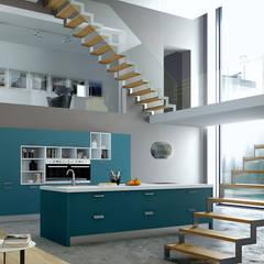 Colección Antalia: Cocinas integrales de estilo  de Isoko Proyecto