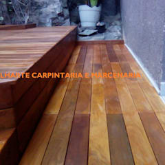 rustic Conservatory by TELHARTE CARPINTARIA E MARCENARIA