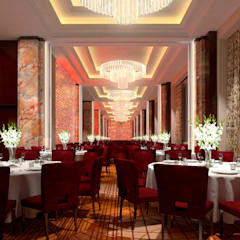 Gran Hotel Kempinski, Riga: Salas de jantar  por Ferreira de Sá