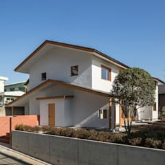 Casas geminadas  por 松井建築研究所