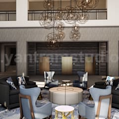 Hotel Interior Waiting ideas:  Hotels by Yantram Architectural Design Studio