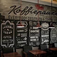 KOFFIEPAUZE:  Bars & clubs by Benson Sioco Interior Design