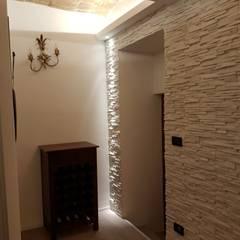 ระเบียงและโถงทางเดิน by Studio Interior Design Berti Daniela S.r.l.