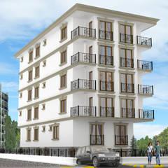 منزل عائلي كبير تنفيذ Altuncu İç Mimari Dekorasyon