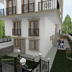 Casas geminadas  por Altuncu İç Mimari Dekorasyon