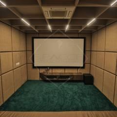Multimedia-Raum von SPACCE INTERIORS