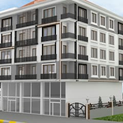 Casas multifamiliares de estilo  por Altuncu İç Mimari Dekorasyon