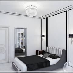 Habitaciones para adolescentes de estilo  por Студия дизайна Светланы Исаевой