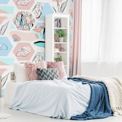 PASTEL EASTER:  Bedroom by Pixers