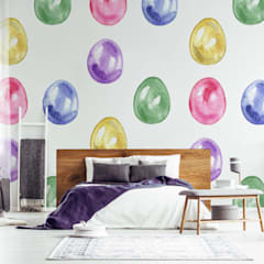 EASTER EGGS:  Bedroom by Pixers