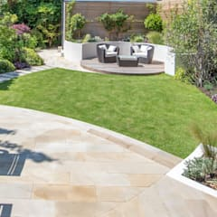 حديقة تنفيذ Kate Eyre Garden Design, حداثي
