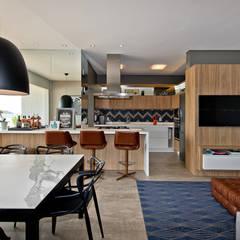 Espaço gourmet: Cozinhas  por Espaço do Traço arquitetura