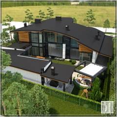 дом: Дома на одну семью в . Автор – Студия дизайна Светланы Исаевой, Минимализм