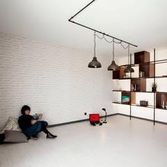 Apartamento EL.P - Remodelação: Salas de jantar  por A2OFFICE