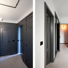 Apartamento EL.P - Remodelação Corredores, halls e escadas industriais por A2OFFICE Industrial