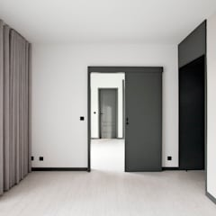 Apartamento EL.P - Remodelação: Quartos  por A2OFFICE