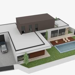 Parcelas de agrado de estilo  por Fabio Pereira & João Fraga, Arquitetos