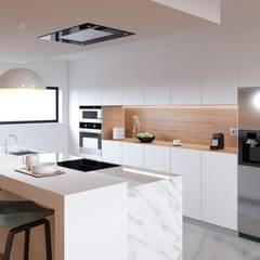 Muebles de cocinas de estilo  por Fabio Pereira & João Fraga, Arquitetos