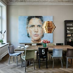 Esszimmer:  Esszimmer von Anja Lehne interior design
