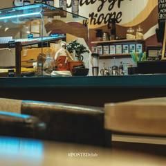 """Кофейня """"Глазурь и кофе"""": Ресторации в . Автор – Студия дизайна Дмитрия Артемьева 'Prosto Design'"""