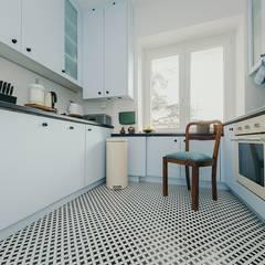 Lata 60-te Kuchnia: styl , w kategorii Kuchnia na wymiar zaprojektowany przez ZIZI STUDIO Magdalena Latos