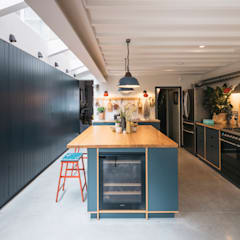 The Curated Home:  Built-in kitchens by Mustard Architects