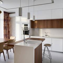 Дизайн кухни в светлых тонах: Кухонные блоки в . Автор – Art-i-Chok