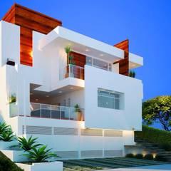 JACUHY HOUSE: Casas  por DECEM ARQUITETURA E PLANEJAMENTO