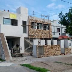 PROCESO: VIVIENDA MULTIFAMILIAR WG: Casas multifamiliares de estilo  por PRIGIONI Arquitectura y Diseño