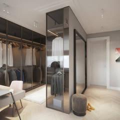 SASKA KĘPA: styl , w kategorii Garderoba zaprojektowany przez Katarzyna Kraszewska Architektura Wnętrz
