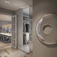 SASKA KĘPA: styl , w kategorii Korytarz, przedpokój zaprojektowany przez Katarzyna Kraszewska Architektura Wnętrz