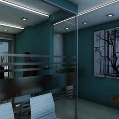 Oficina: Estudios y oficinas de estilo  por MC/AP Arquitectos