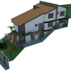 Residência W.: Casas  por A7 Arquitetura