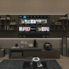Media room by 50GR Mimarlık